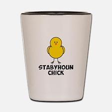 Stabyhoun Chick Shot Glass