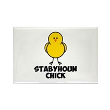 Stabyhoun Chick Rectangle Magnet (100 pack)