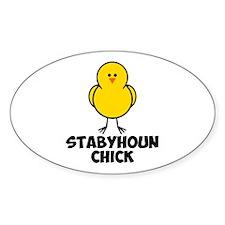 Stabyhoun Chick Decal