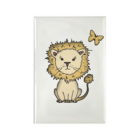 Little Lion Rectangle Magnet (100 pack)