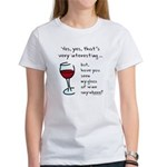 Seen my wine funny Women's T-Shirt