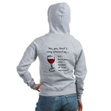 Seen my wine funny Zipped Hoodie