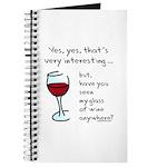 Seen my wine funny Journal