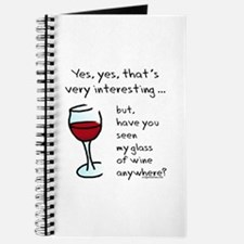 Seen my wine funny Journal
