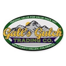 Galt's Gulch Trading Co. Decal