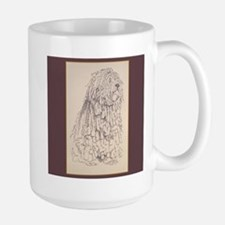 Bergamasco Sheepdog Large Mug