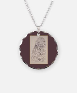 Bergamasco Sheepdog Necklace