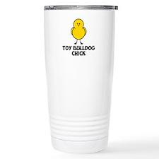 Toy Bulldog Chick Travel Coffee Mug