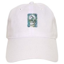 Green Dragon Fantasy Art Baseball Cap