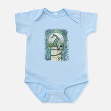 Green Dragon Fantasy Art Infant Bodysuit