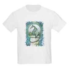 Green Dragon Fantasy Art T-Shirt