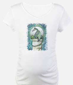 Green Dragon Fantasy Art Shirt