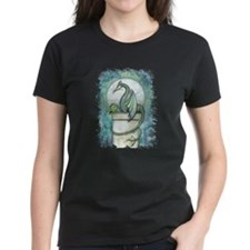 Green Dragon Fantasy Art Tee