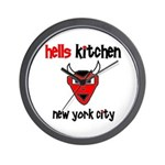 Hell's Kitchen Devil - Wall Clock