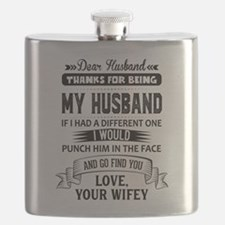 Dear Husband, Love, Your Favorite Flask