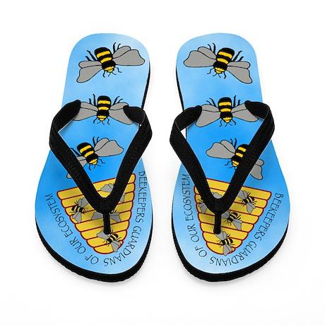 Beekeepers Flip Flops