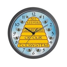 Beekeepers Wall Clock