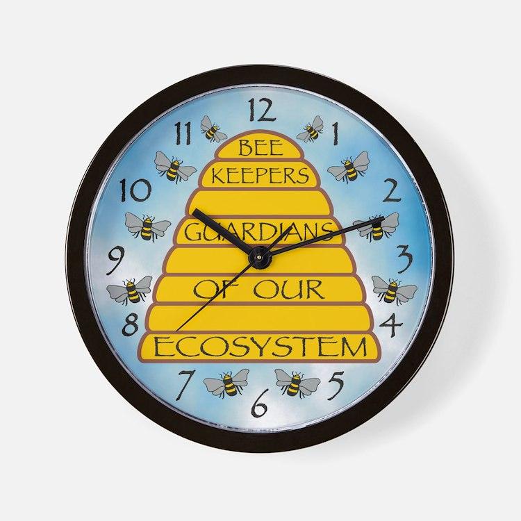 Beekeepers Wall Clock