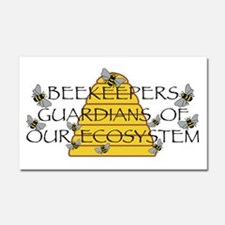 Beekeepers Car Magnet 20 x 12