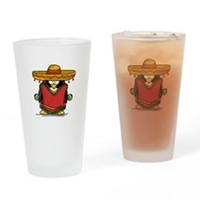 Fiesta Penguin Drinking Glass