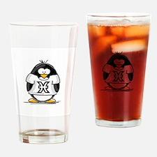 Pisces Penguin Drinking Glass