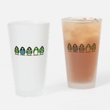 Eco-friendly Penguins Drinking Glass