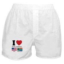 USA-SOUTH AFRICA Boxer Shorts