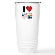 USA-SOUTH AFRICA Travel Mug