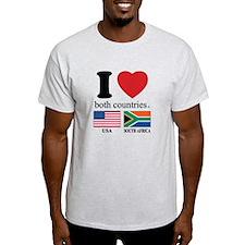 USA-SOUTH AFRICA T-Shirt