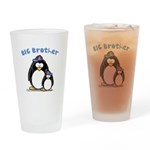 Big Brother Penguin Drinking Glass