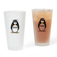 2009 Graduation Penguin Drinking Glass