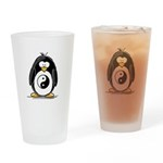 Martial Arts Ying Yang pengui Drinking Glass