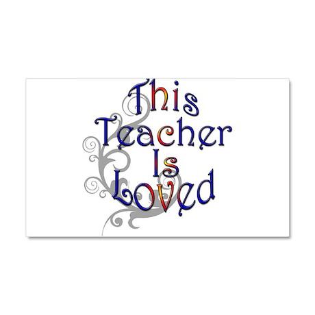 Teacher Car Magnet 20 x 12