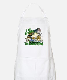 Grandpa the Bass fishing legend Apron