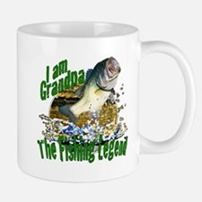 Grandpa the Bass fishing legend Mug