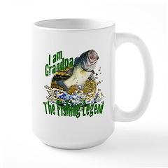 Grandpa the Bass fishing legend Mug