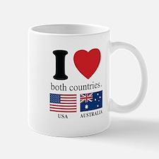 USA-AUSTRALIA Mug