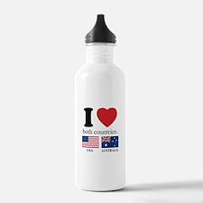USA-AUSTRALIA Water Bottle
