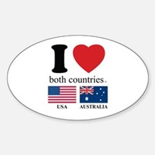 USA-AUSTRALIA Decal