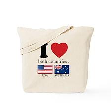 USA-AUSTRALIA Tote Bag
