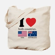 USA-AUSTRALIA Tote Bag