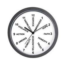 12 Principles #1 Wall Clock