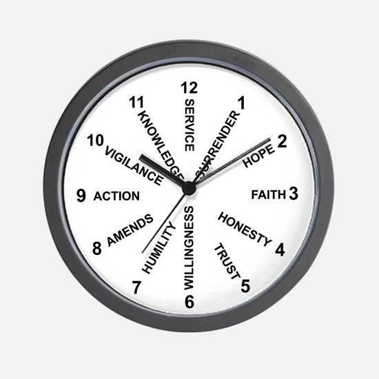 12 Principles #1 Wall Clock