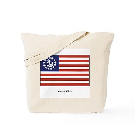 Yacht Club Flag Tote Bag