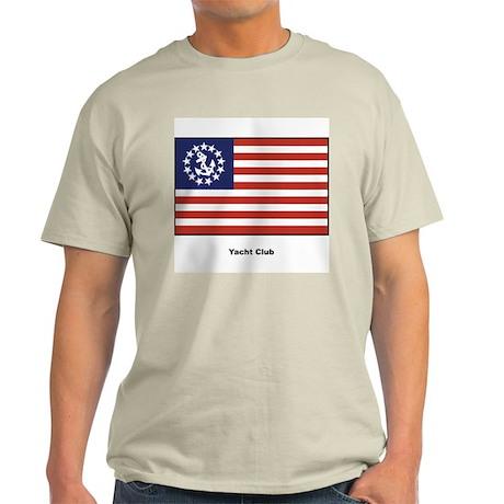 Yacht Club Flag Ash Grey T-Shirt