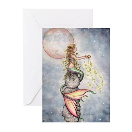 Star Mermaid Greeting Cards (Pk of 10)