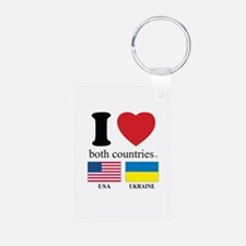 USA-UKRAINE Keychains