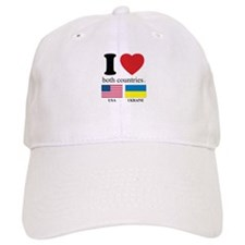 USA-UKRAINE Baseball Cap