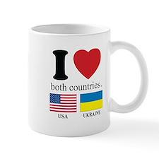 USA-UKRAINE Mug