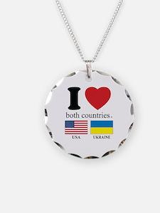 USA-UKRAINE Necklace